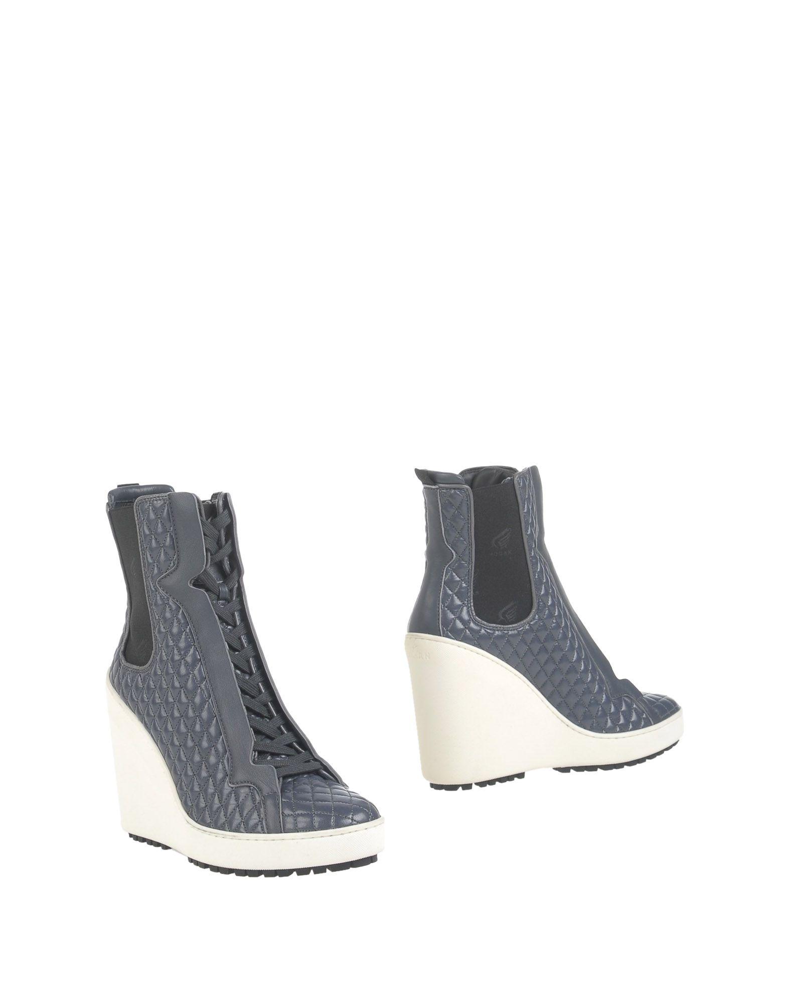 HOGAN Полусапоги и высокие ботинки цена 2017