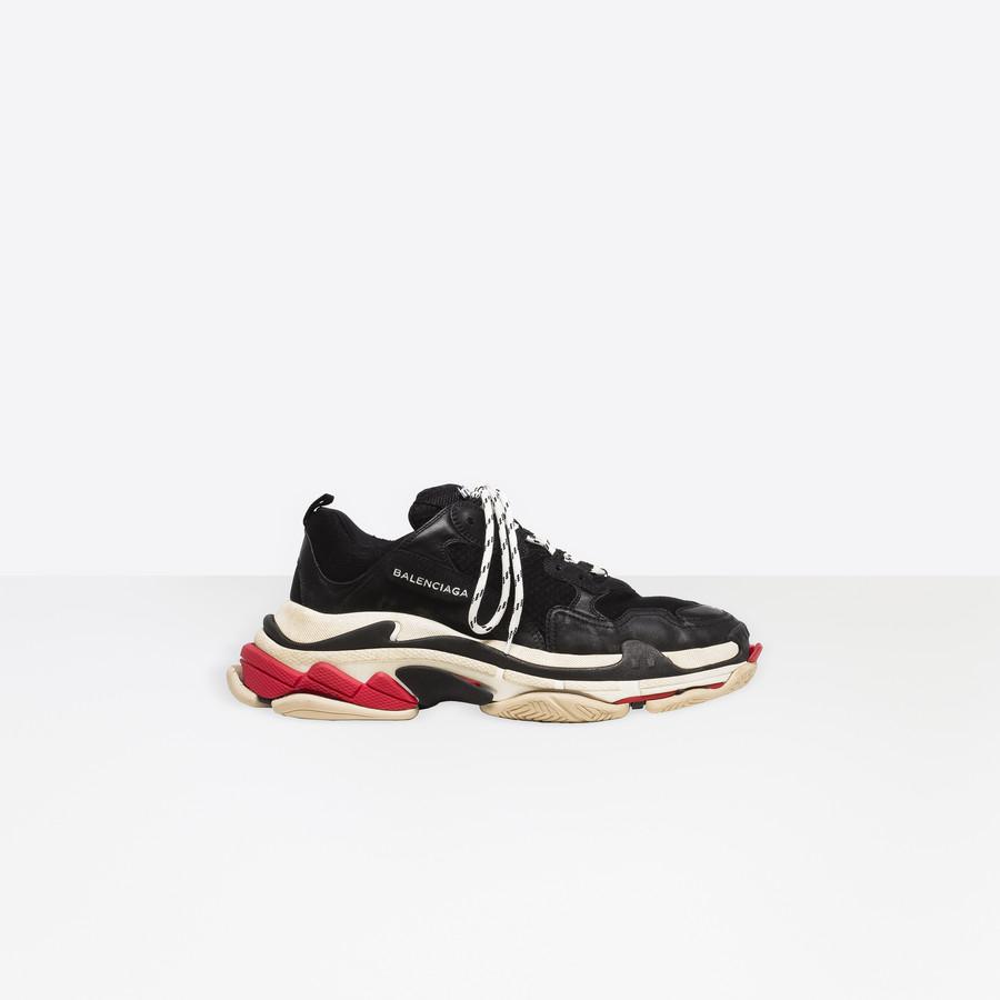 BALENCIAGA トリプル S トレーナー Triple S Shoes U f