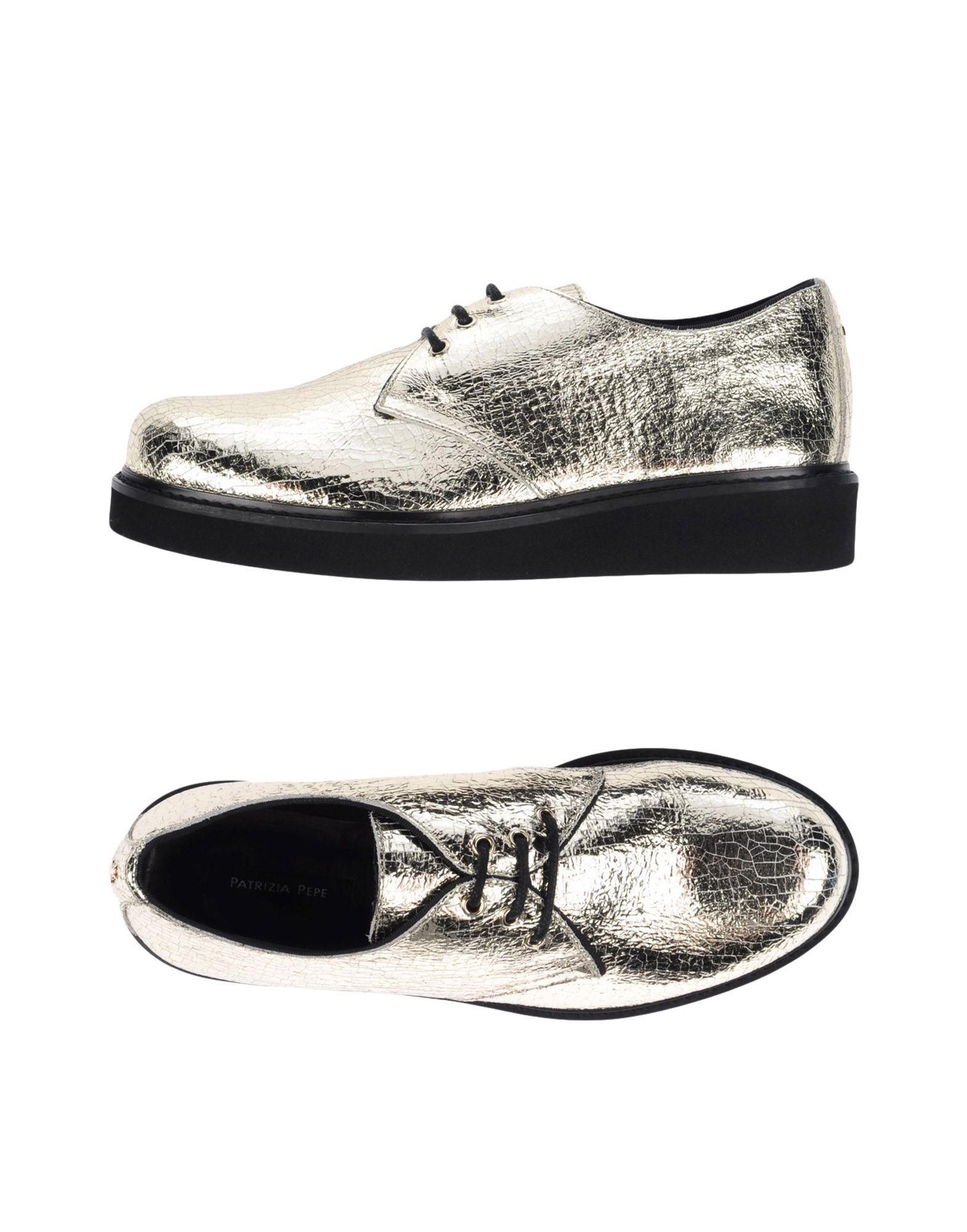 PATRIZIA PEPE Обувь на шнурках patrizia pepe джемпер с люрексом