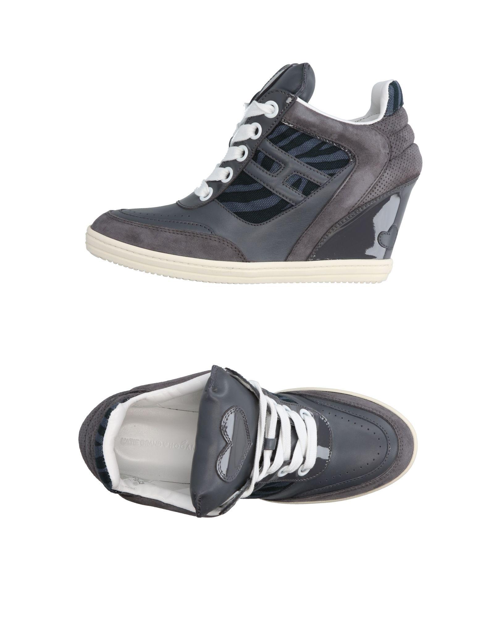 KATIE GRAND LOVES HOGAN Низкие кеды и кроссовки цены онлайн