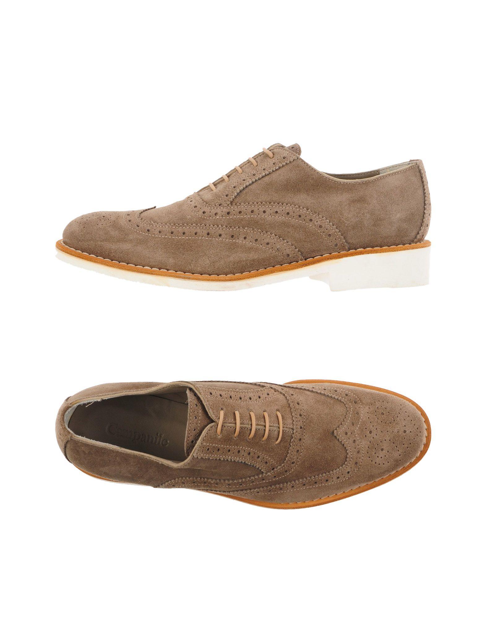 CAMPANILE Laced Shoes in Khaki