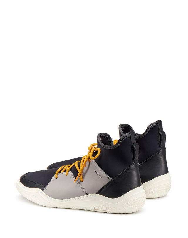 LANVIN HIGH-TOP DIVING SNEAKER Sneakers U d