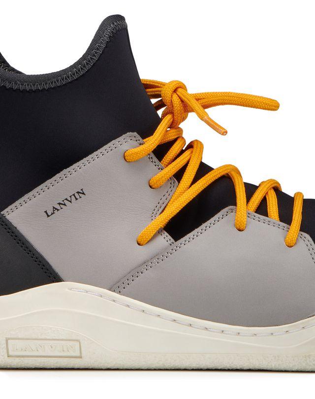 LANVIN HIGH-TOP DIVING SNEAKER Sneakers U e