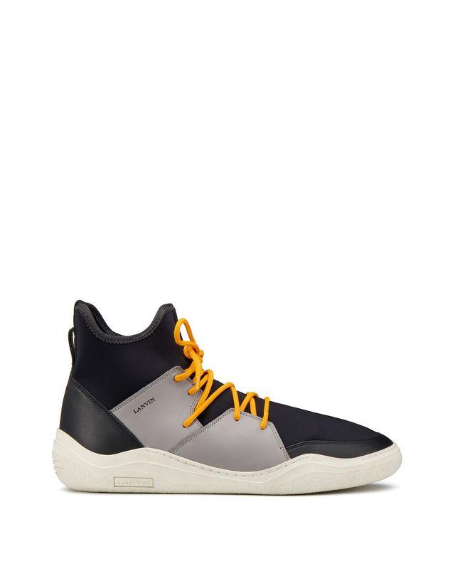 LANVIN HIGH-TOP DIVING SNEAKER Sneakers U f
