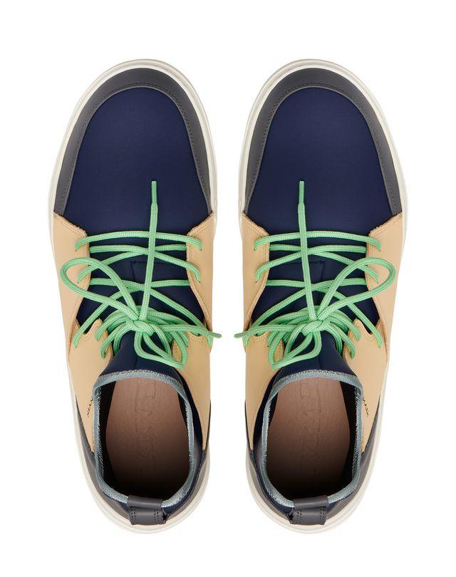 LANVIN HIGH-TOP DIVING SNEAKER Sneakers U a