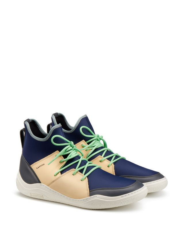 LANVIN HIGH-TOP DIVING SNEAKER Sneakers U r