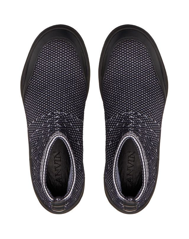 LANVIN MID-TOP DIVING SNEAKER Sneakers U a