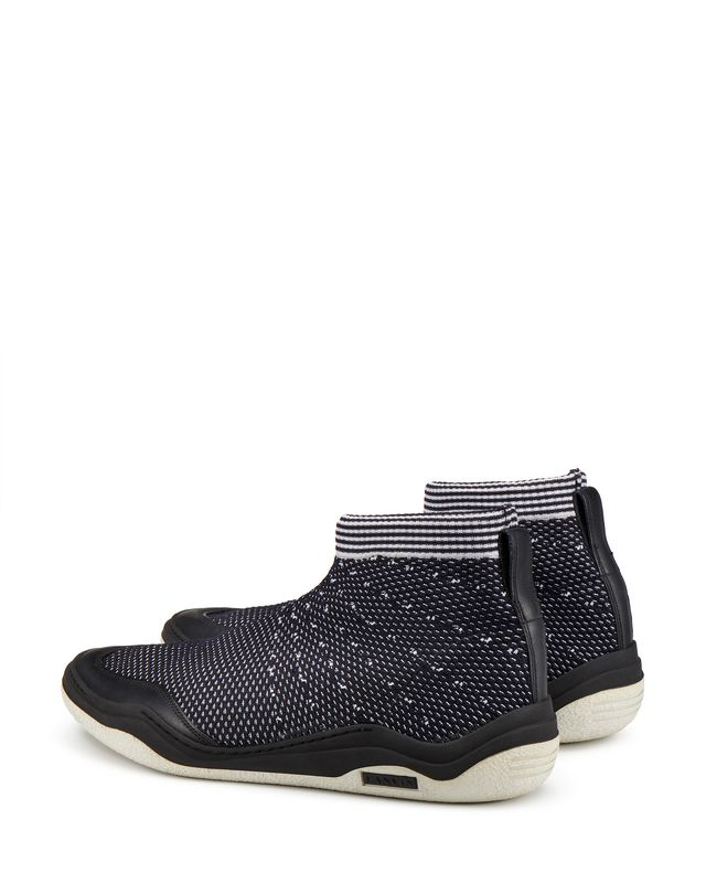 LANVIN MID-TOP DIVING SNEAKER Sneakers U d