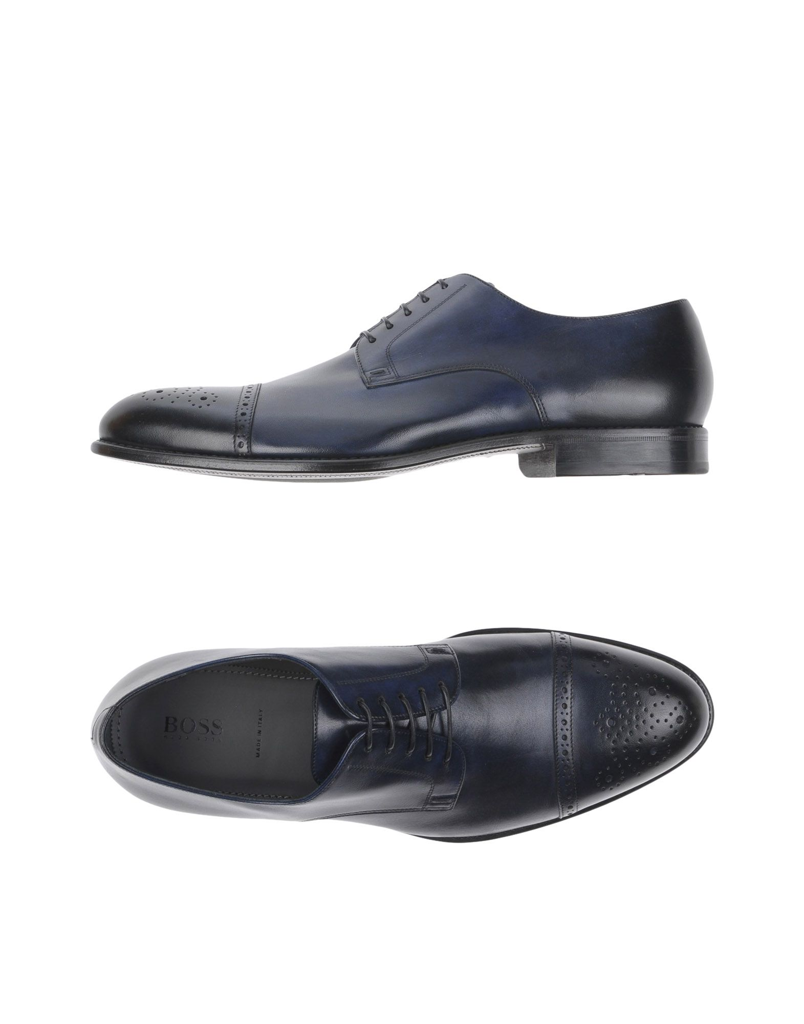 Boss Black Lace-up Shoes