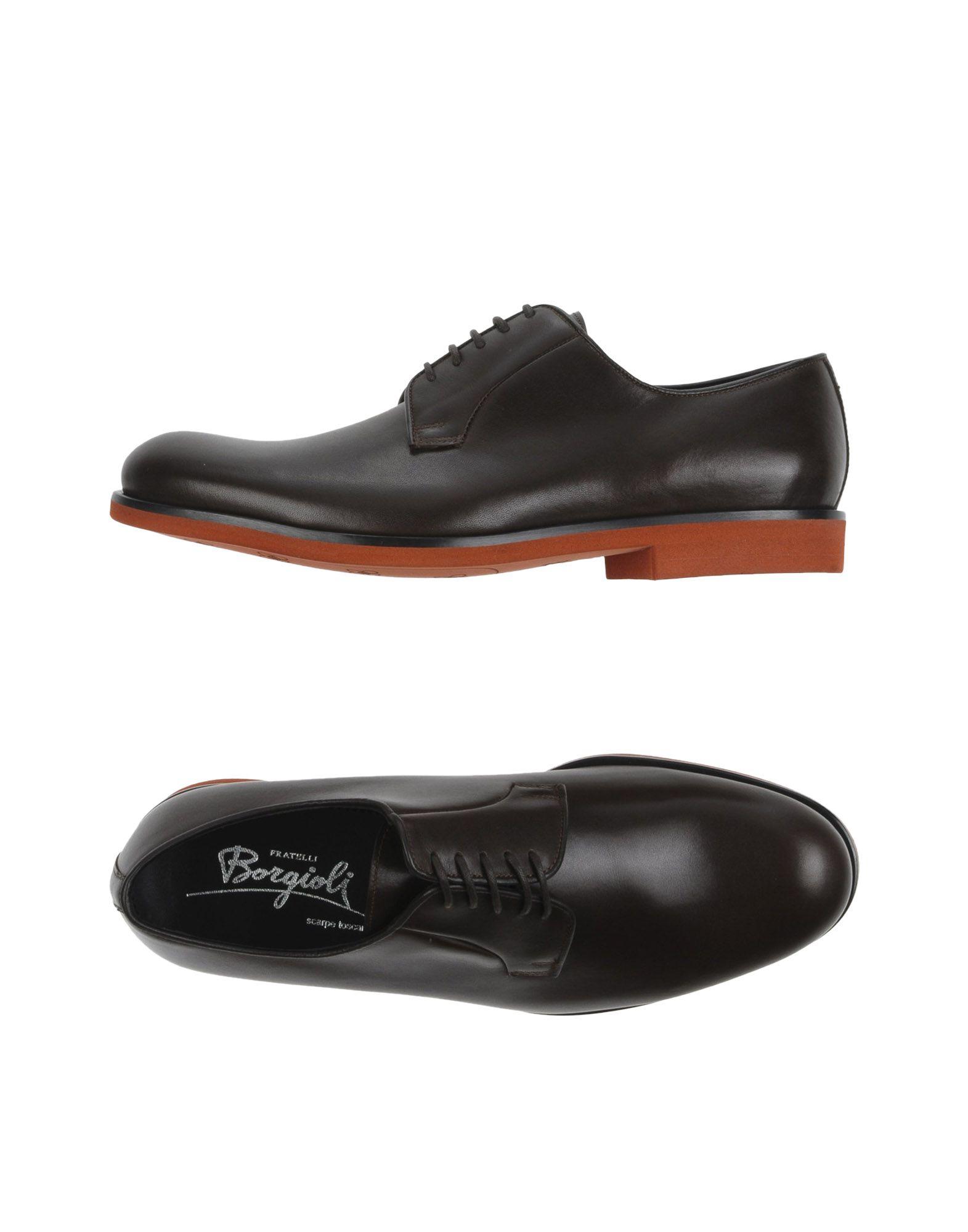 BORGIOLI Обувь на шнурках цены онлайн
