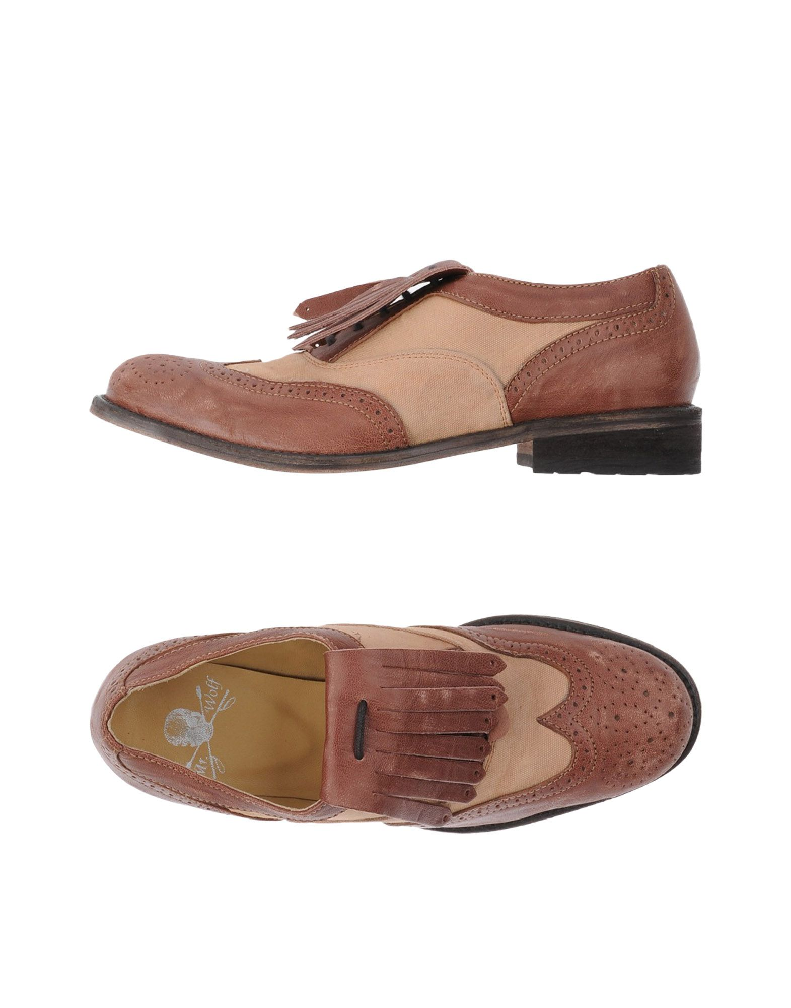 MR. WOLF Обувь на шнурках mr z 1 6 set steppe wolf animal 20 cm lenght in stock