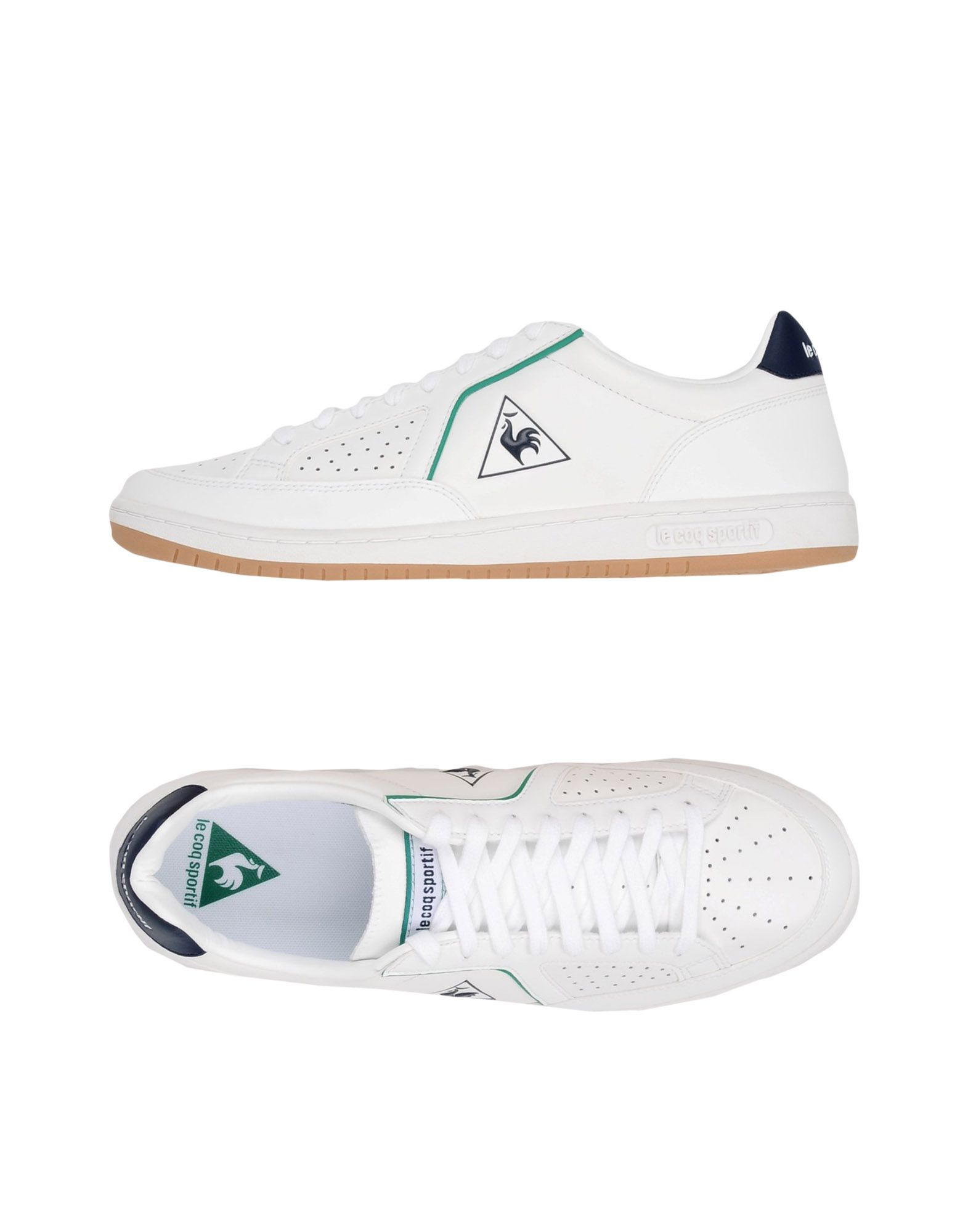 LE COQ SPORTIF Низкие кеды и кроссовки spring korean men flats shoes british fashion trend of small leather flat shoes tide dress shoes hot sale b1198