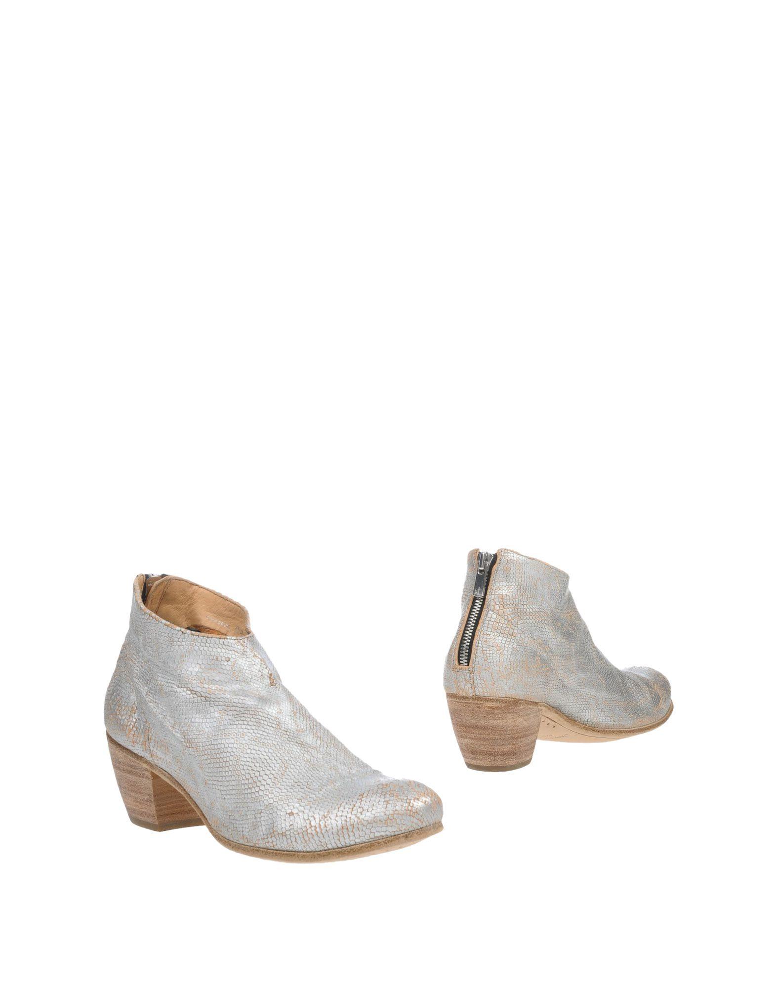 OFFICINE CREATIVE ITALIA Damen Ankle Boot Farbe Silber Größe 7