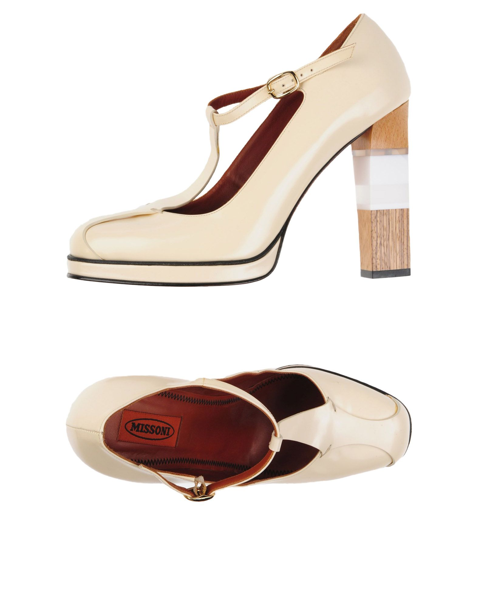MISSONI Туфли цены онлайн