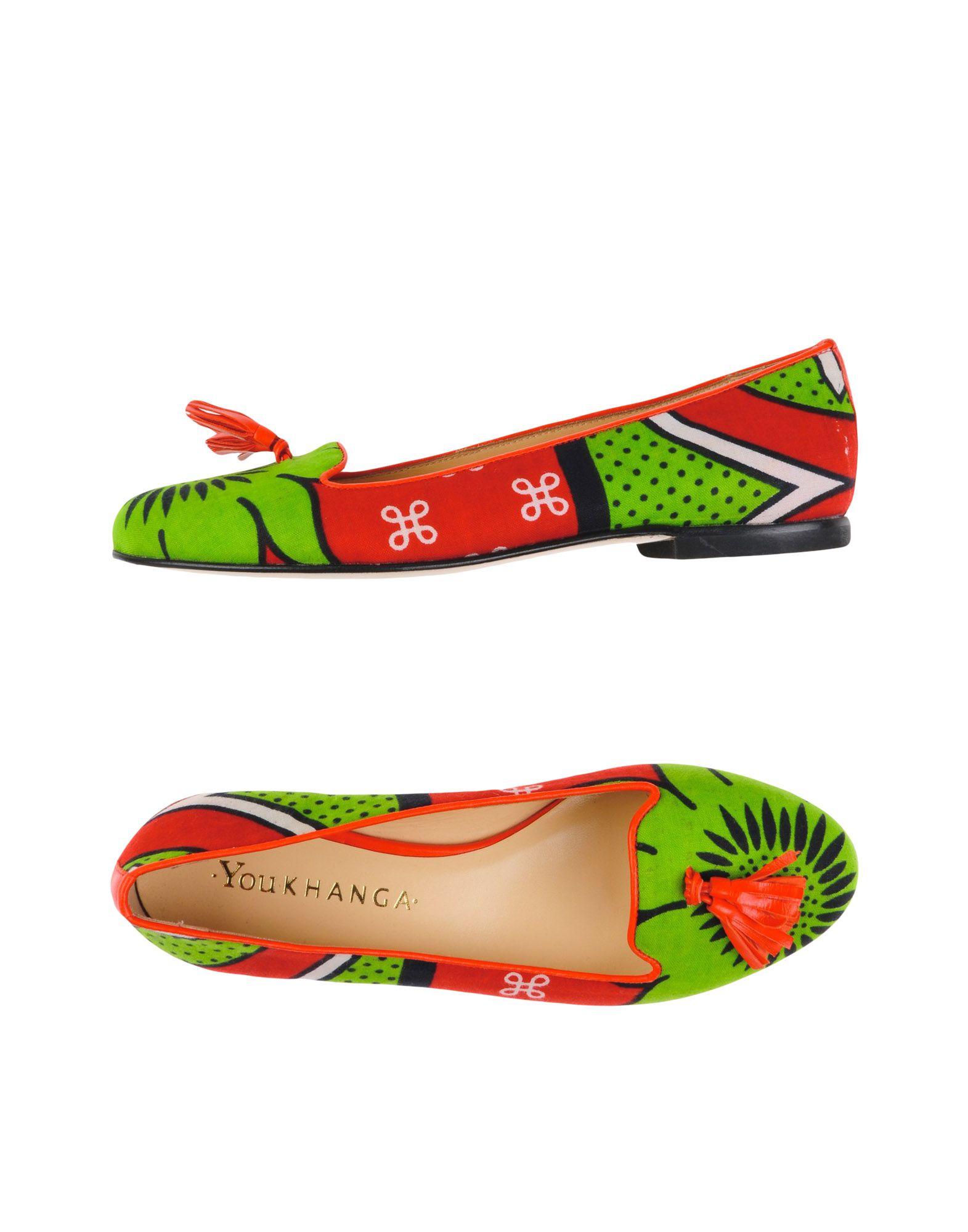 YOU KHANGA Loafers in Light Green