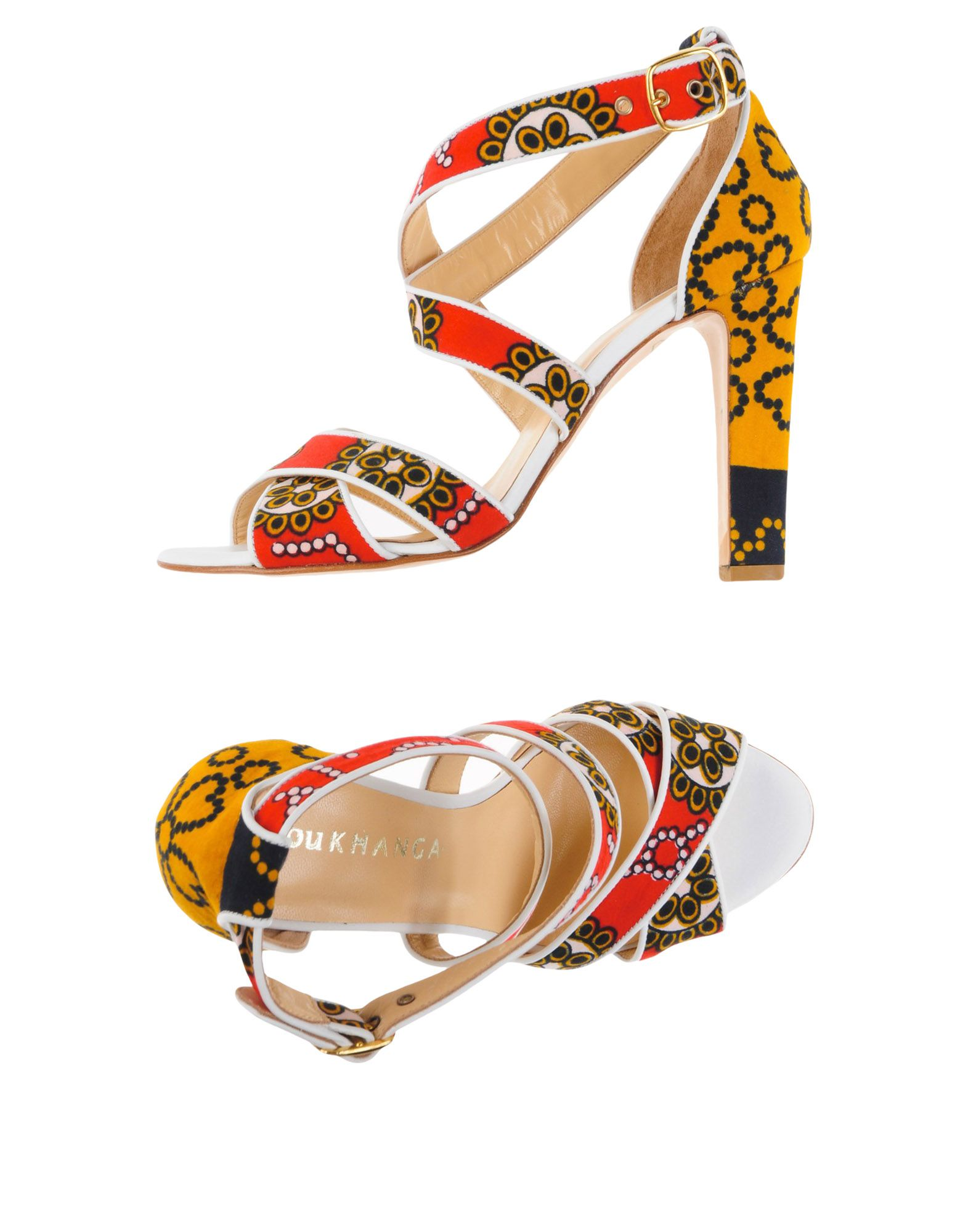 YOU KHANGA Sandals in Red