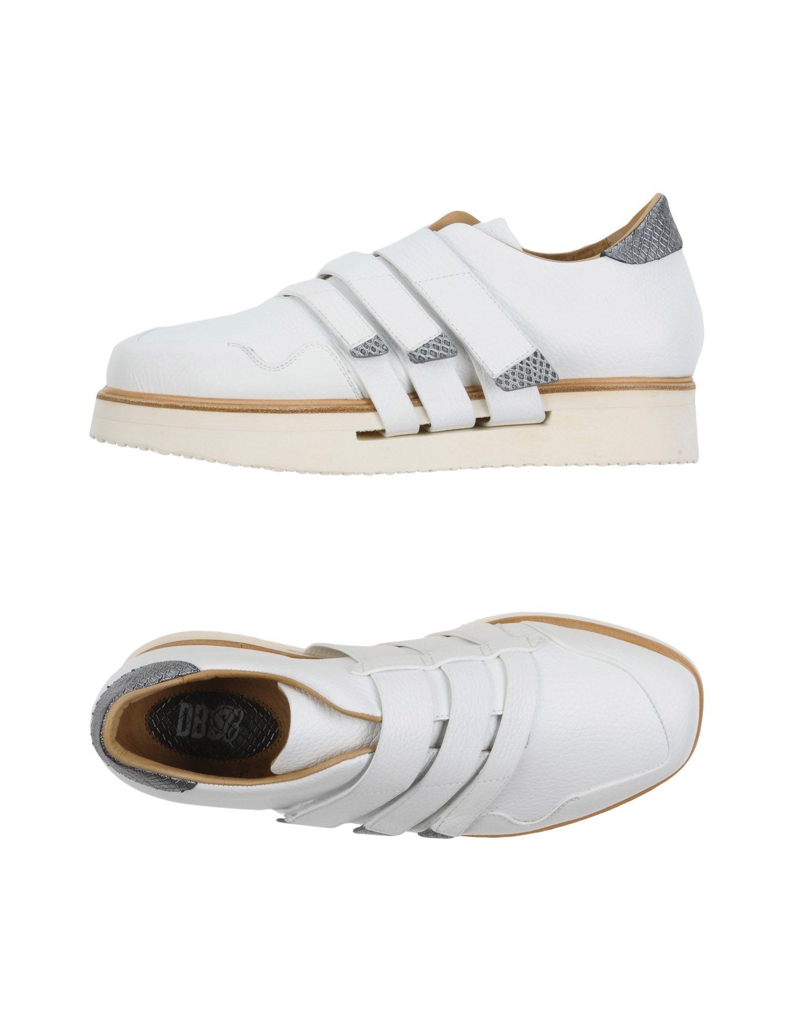 DIRK BIKKEMBERGS Herren Low Sneakers & Tennisschuhe Farbe Weiß Größe 9