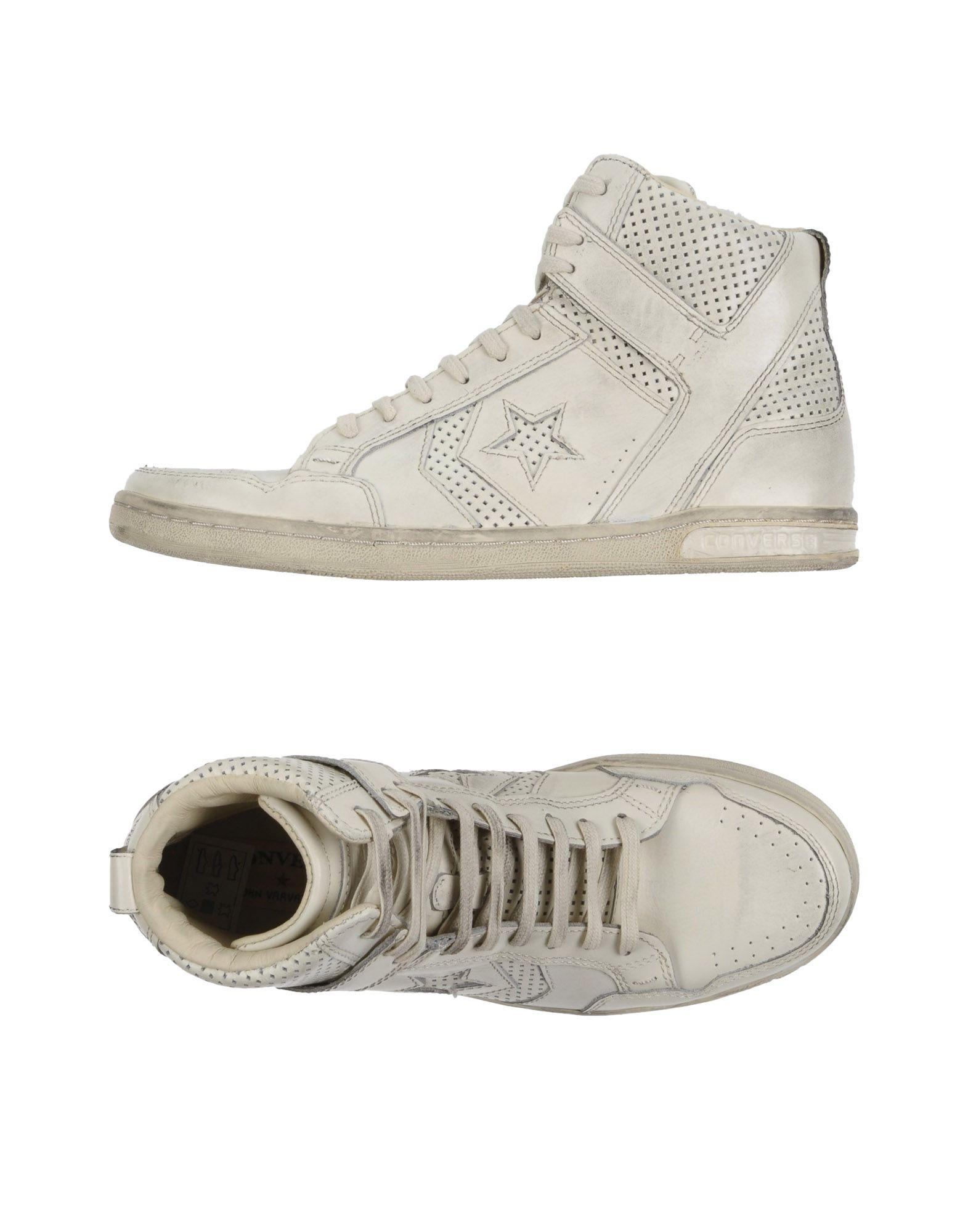 CONVERSE JOHN VARVATOS Herren High Sneakers & Tennisschuhe Farbe Weiß Größe 7