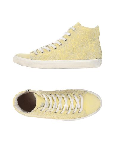 LEATHER CROWN Sneakers & Tennis montantes femme