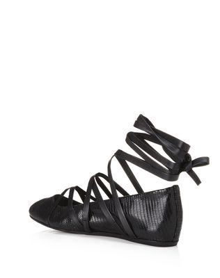 LANVIN 系带芭蕾平底鞋 芭蕾鞋 D d