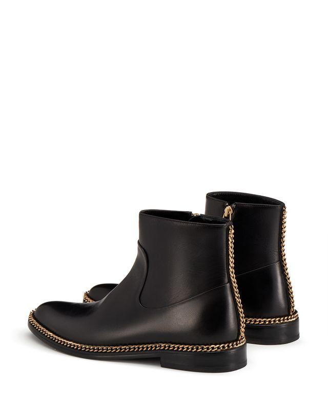 LANVIN CHAIN ANKLE BOOT Boots D d