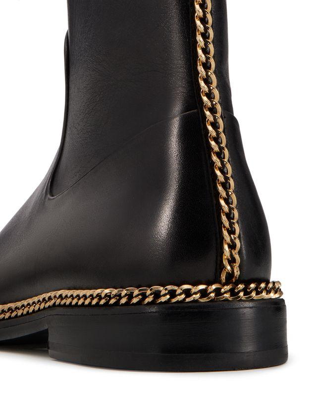 LANVIN CHAIN ANKLE BOOT Boots D e