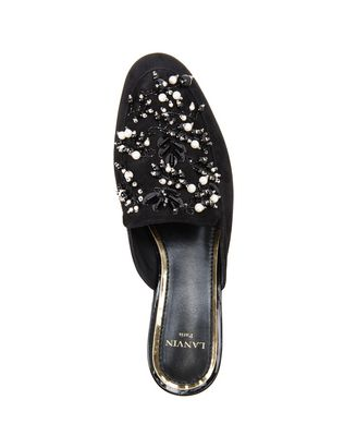 LANVIN EMBROIDERED MULE Loafers D r