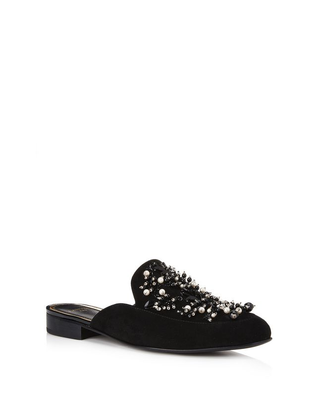 LANVIN EMBROIDERED MULE Loafers D f
