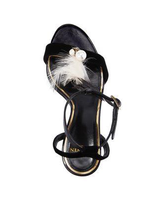 LANVIN FEATHER SANDAL Sandals D d