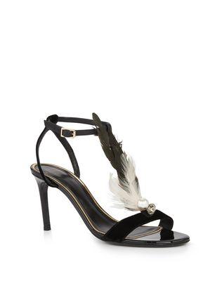 LANVIN FEATHER SANDAL Sandals D f