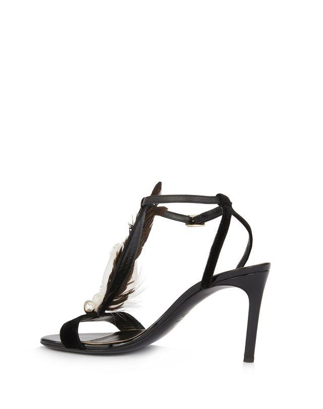 LANVIN FEATHER SANDAL Sandals D r