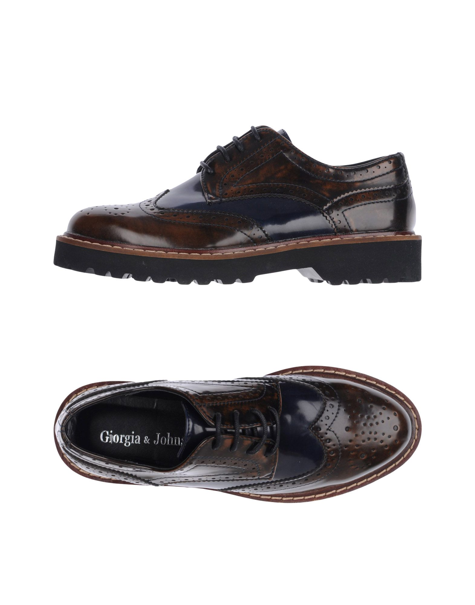GIORGIA  & JOHNS Обувь на шнурках johns sm 745