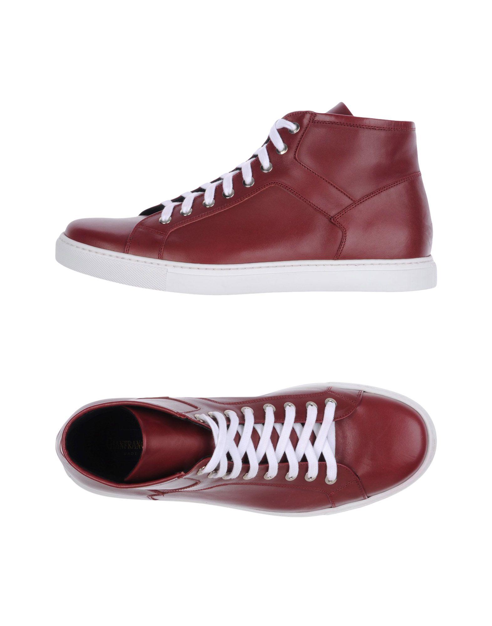 GIANFRANCO LATTANZI Herren High Sneakers & Tennisschuhe Farbe Bordeaux Größe 9