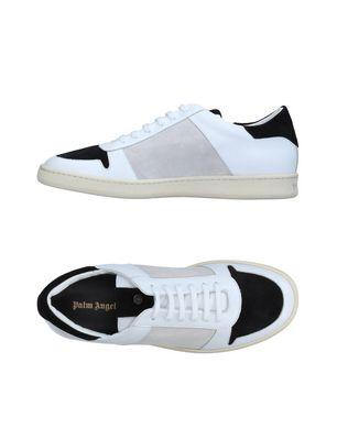PALM ANGELS Herren Low Sneakers & Tennisschuhe Farbe Weiß Größe 7 Sale Angebote Haidemühl