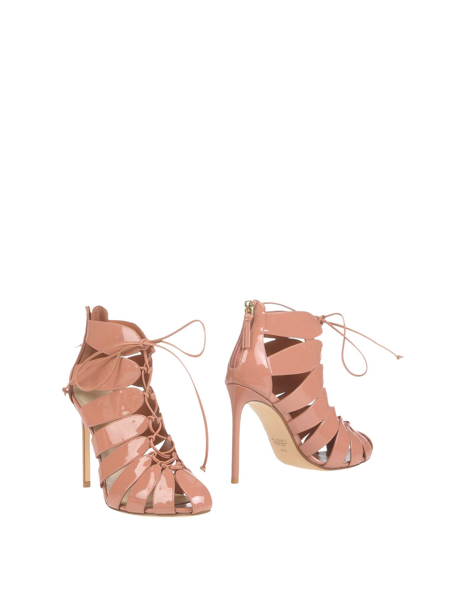 где купить  FRANCESCO RUSSO Полусапоги и высокие ботинки  по лучшей цене