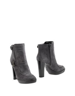HOGAN Damen Stiefelette Farbe Grau Größe 8 Sale Angebote