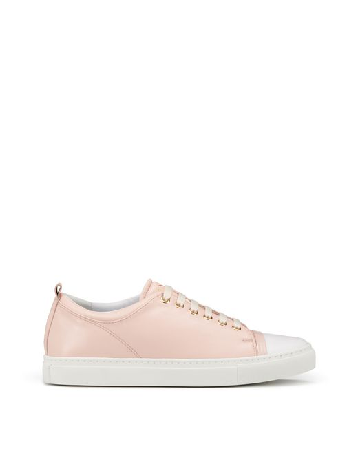 SNEAKERS IN NAPPA D'AGNELLO  - Lanvin