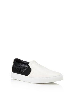 LANVIN TWO-TONED SLIP-ON SNEAKER Sneakers D f
