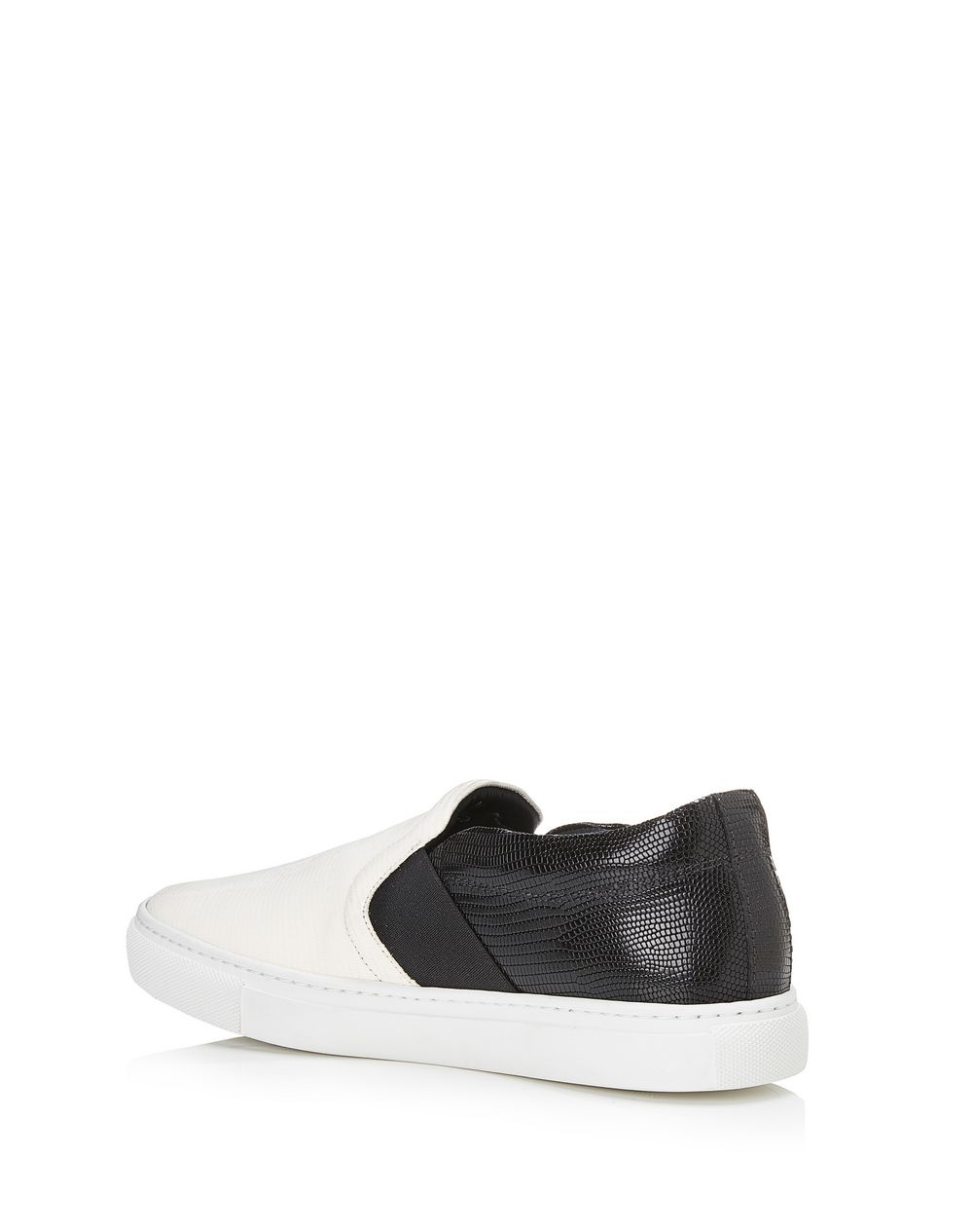 TWO-TONED SLIP-ON SNEAKER - Lanvin