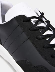 ARMANI EXCHANGE FAUX-SUEDE RUBBER LOGO SNEAKERS Sneakers Man a