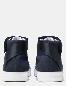 ARMANI EXCHANGE MESH AND FAUX SUEDE HIGH-TOP SNEAKERS Sneakers Man d