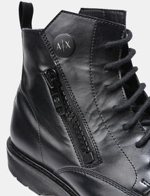 ARMANI EXCHANGE A|X ZIPPERED BOOTS Boots Man a