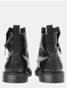 ARMANI EXCHANGE A|X ZIPPERED BOOTS Boots Man d