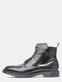 ARMANI EXCHANGE A|X ZIPPERED BOOTS Boots Man f