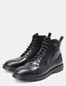 ARMANI EXCHANGE A|X ZIPPERED BOOTS Boots Man r