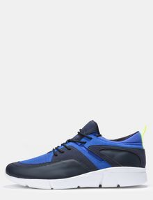 ARMANI EXCHANGE MESH LACE-UP SNEAKERS Sneakers Man f