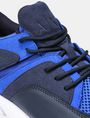 ARMANI EXCHANGE MESH LACE-UP SNEAKERS Sneakers Man a