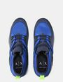 ARMANI EXCHANGE MESH LACE-UP SNEAKERS Sneakers Man e