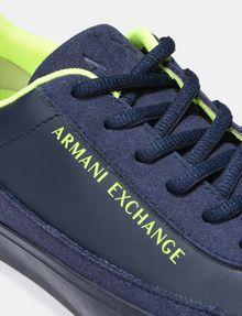ARMANI EXCHANGE NEON LOGO SNEAKERS Sneakers U a