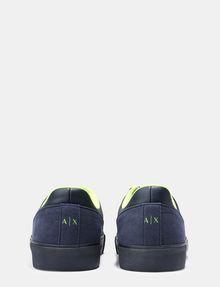 ARMANI EXCHANGE NEON LOGO SNEAKERS Sneakers U d